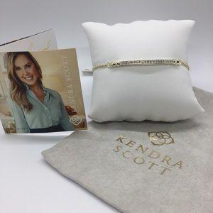 Kendra Scott Ott Gold Friendship Bracelet, NWT